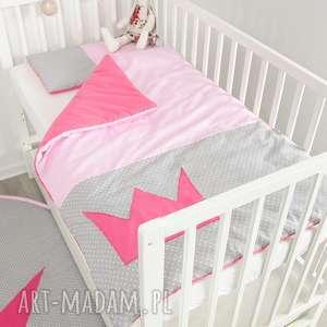 pokoik dziecka pościel do łóżeczka princessa, pokójksiężniczki, małaksiężniczka