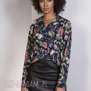 elegancka koszula, k101 kwiaty, elegancka, klasyczna, prosta