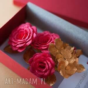 Karteczki 3D , gratulacje, kartka, czerwona, ślubne, koperta, wesele