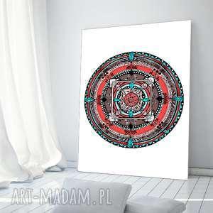 Mandala A1, plakat, obrazek, mandala, etno, ilustracja