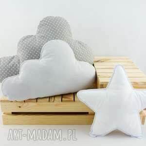 nunli zestaw 3 poduch klasyczny, poduszka chmurka, gwiazdka, pokój