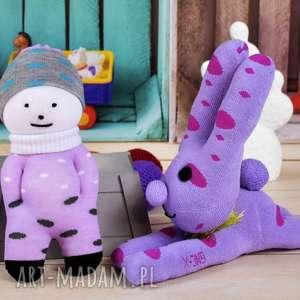 luzik laleczka - skarpeciak - dziecko, zabawka, prezent, akcesoria, sesja, niemowlak