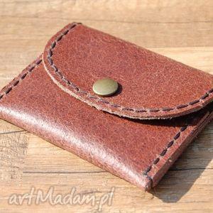 marmurkowa skórzana portmonetka z możliwością personalizacji, portmonetka, portfel