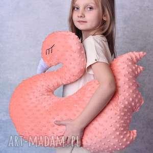 Prezent Poduszka dziecięca łabedź, poduszka-minky, łabędź, fajny-prezent, maskotka