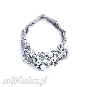 ręcznie wykonane naszyjniki silver chains naszyjnik handmade