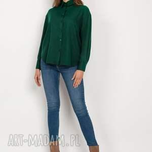 koszula o swobodnym kroju - k116 zielony, koszula, zielona