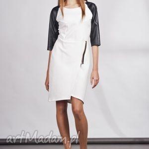 sukienki sukienka, suk106 ecru