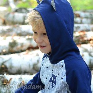 bluza hoodie wilki, uszy, hoodie, kaptur