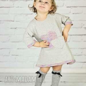Sukieneczka z serduszkiem gapula moda, wygoda