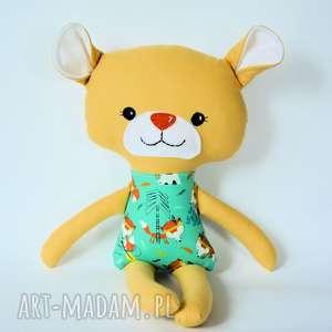 Miś duży - Jasmin 47 cm, miś, lis, indianin, maskotka, zabawka, bezpieczna