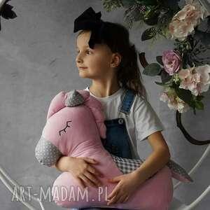 maskotki poduszka dziecięca koń, konik, przytulanka minky, pokój