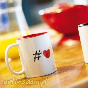 #heart kubek z sercem prezent na walentynki 330 ml, serce, love, walentynki