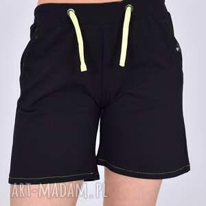ubrania szorty dresowe daria czarne, sukienka, damskie, spódnica