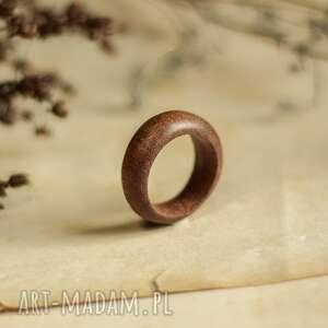 Obrączka z drewnia tiama obrączki drevniana obrączka, drewniana