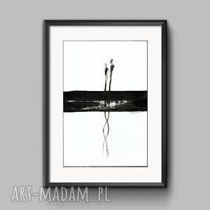 obraz A3 ręcznie malowany, abstrakcja, do salonu, obrazy-ręcznie-malow