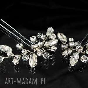 w blasku kryształów 2, ślub, ozdoba, swarovski, preciosa, kryształ, wire