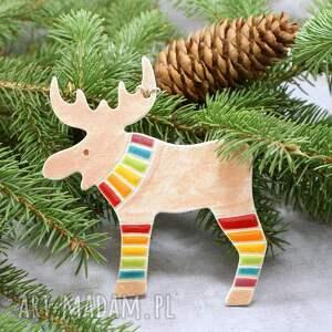 dekoracje renifer zawieszka świąteczna, renifer, zawieszka, ozdoba świąteczna