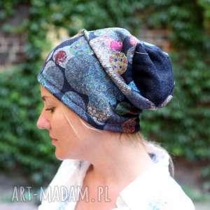 handmade czapki czapka damska nie każdy kocur bury brudne ma pazury