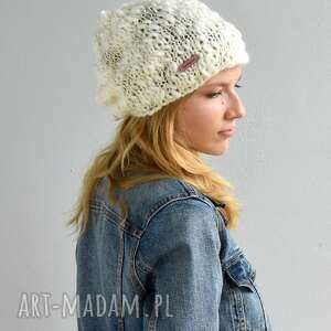 wełniana czapka, wełniana, na drutach, prezent, głowę