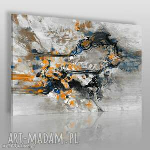 Obraz na płótnie - ABSTRAKCJA NOWOCZESNY 120x80 cm (22203), nowoczesny, abstrakcja
