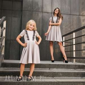 LATORI - Sukienka z kolekcji Mama i córka dla córki LD13/1, sukienka, mama,