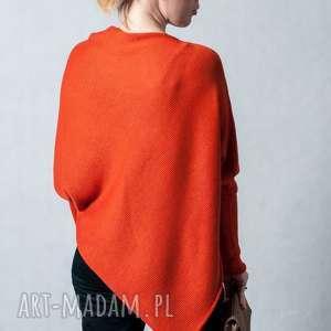 sweter-ponczo, sweter damski, ponczo sweter, wełniany