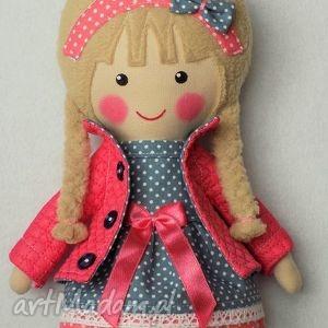 Prezent MALOWANA LALA JULIA, lalka, zabawka, przytulanka, prezent, niespodzianka