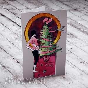 pomysł na prezent KARTECZKA NA ŚWIĄTECZNE ŻYCZENIA, kartki, boże-narodzenie