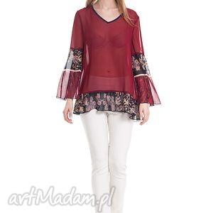 Tunika Rima - czerwona, moda