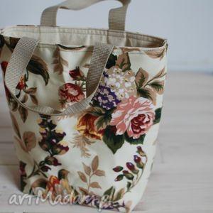 lunchbag by wkml róże angielskie, śniadanie, kanapki, lunch, róże, kolorowe