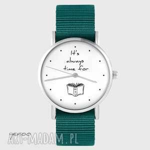 Zegarek yenoo - time for book morski, nato zegarki zegarek