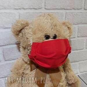 sznurekwiki maseczka bawełniana ochronna z drucikiem na nos, maseczka