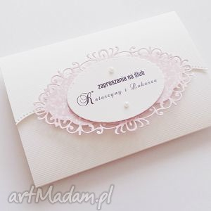 Zaproszenie na ślub - 3 - ,zaproszenie,ślub,wesele,kartka,