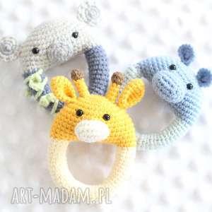 Żyrafa - grzechotka zabawki lalalajshop grzechotka, żyrafy