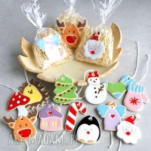 zawieszka ceramiczna, zawieszka, renifer, domek, aniołek, grzybek, choinka dekoracje