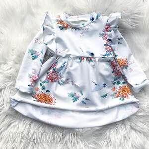 slow village sukienka dla dziewczynki kwiatuszki