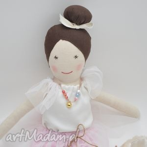 Lalka szmaciana dunia w różanym zestawie lalki przytullale lalka