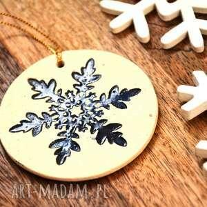Pomysł na upominek święta! Ceramiczna zawieszka ceramika wooden