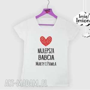 Prezent Koszulka z nadrukiem dla babci, od wnuków, prezent babcia,