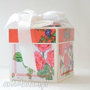 exploding box, box, pamiątka, ślub, podziękowania, komunia