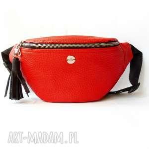 All in Red nerka saszetka, nerka, brelok, chwost, skóra, autorska