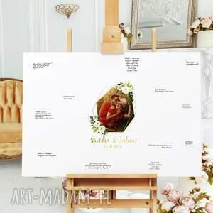 obraz alternatywna księga gości 50x90 cm, gości, ślub, wesele