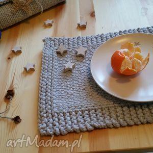 Podkładki, podkładka, stół, bawełna