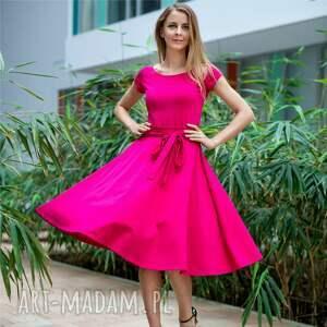 WHEEL LIGHT | sukienka z dzianiny bawełnianej, sukienki, dzianina, bawełna