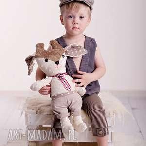 pomysł na upominek Przytulanka dziecięca renifer, przytulanka-renifer