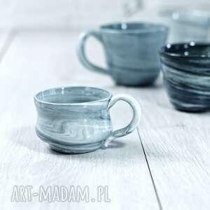 handmade nietuzinkowy porcelanowy kubek marble mini 160 ml/ 5,5oz, ceramika