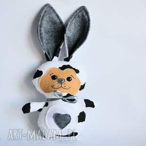 Królik torebkowy - Filip, królik, zając, chmurka, dziecko, maskotka, chłopczyk