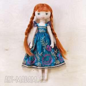 lalka jak księżniczka anna z bajki kraina lodu, lalka, laleczka, anna