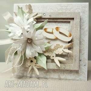 Ślubna elegancja - w pudełku - ślub, życzenia, gratulacje