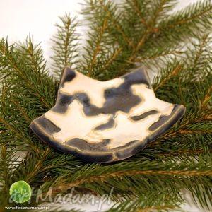 wyjątkowy prezent, ceramika miseczka gwiazda, miska, ceramika, rękodzieło